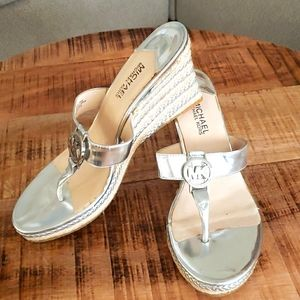 Michael Kors Palm Beach Thong Wedge sandal